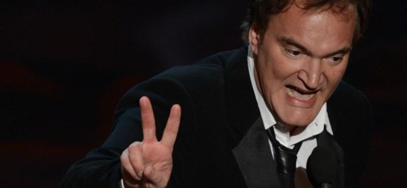 Tarantino kiakadt, mégsem forgatja le az új westernt