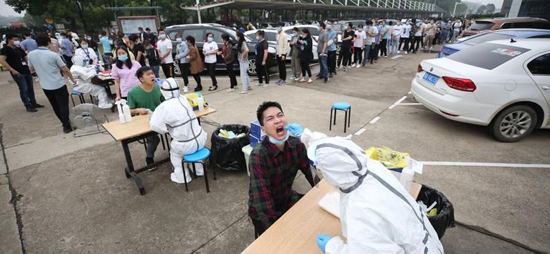 Félmillió ember került karanténba Kínában