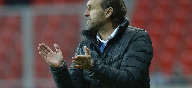 A Fradi német edzőjét van, ami lenyűgözte a klubnál