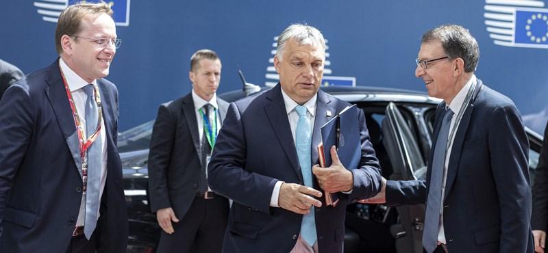 Orbán: Krimiszerű volt a rendkívüli EU-csúcs