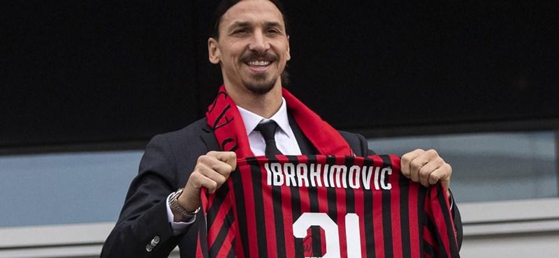 Hat hónapot adott magának a Milanba visszatérő Ibrahimovic