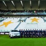 Az összes Juventus játékos Jeep Grand Cherokee-t kapott