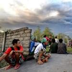 Hamufelhőbe borult Jáva szigete a Semeru vulkán kitörése után