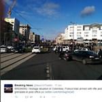 Elfogták a francia postahivatalban túszokat ejtő férfit