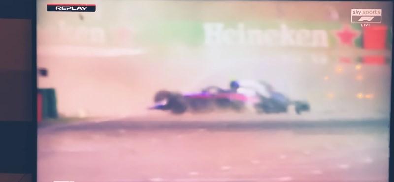 F1: Albon darabjaira törte az autóját a harmadik kínai edzésen