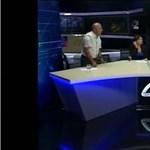 Politikusok pofozták meg egymást egy grúziai tévéműsorban – videó