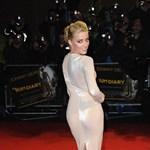 Amber Heard brutálisan szexi estélyiben pózolt