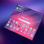 Bámulatos koncepcióképeken a Samsung füzetként hajtogatható telefonja