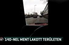 Élő Facebook-videóban közvetítette, ahogy 140-nel előzget Budapesten