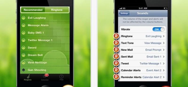 Legyenek különleges SMS-jelző hangjai!