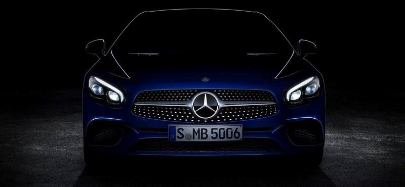 Megérkezett az első fénykép a megújult Mercedes-Benz SL-ről