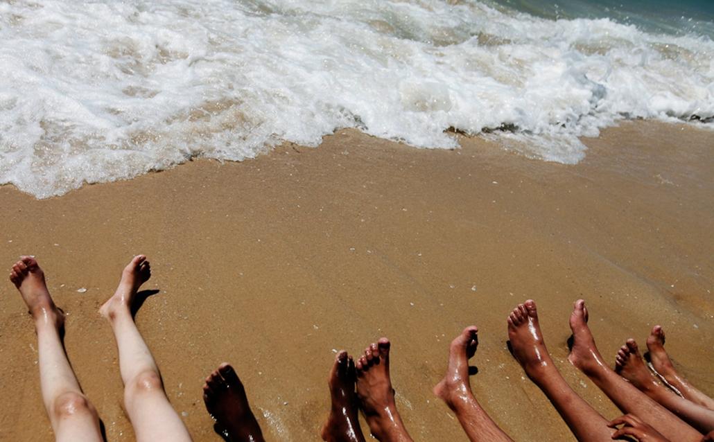 hőség strandok
