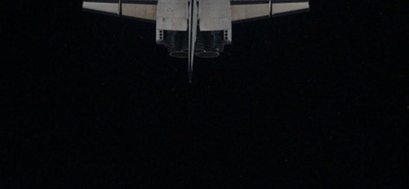 Fotó: utoljára csatlakozott le az ISS-ről az űrsikló