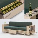 Egy álom vált valóra: a Staropramen megalkotta a sörhűtős kanapét