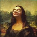 Mr. Bean mosolya: így még nem látta a Mona Lisát
