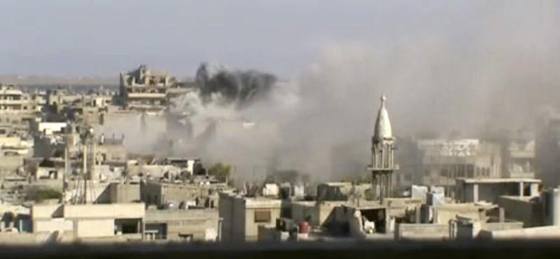 Csak ma 18-an haltak meg Damaszkuszban