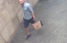 Megrongálta a Nyugati téri csomagautomatát ez a férfi