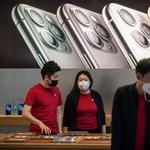 Az Apple bezárja összes kínai üzletét