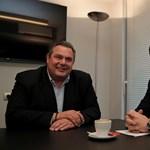 Szélsőjobbal alakít koalíciót az új szélsőbalos görög kormány