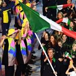 Kitilthatják az olasz zászlót és himnuszt az olimpiáról