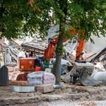 Robbanás volt Antwerpenben, három épület összeomlott