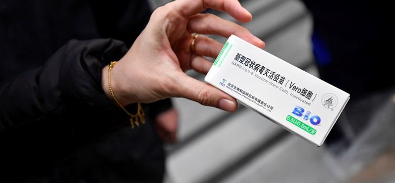 Megjelent a kínai vakcina alkalmazási előírása