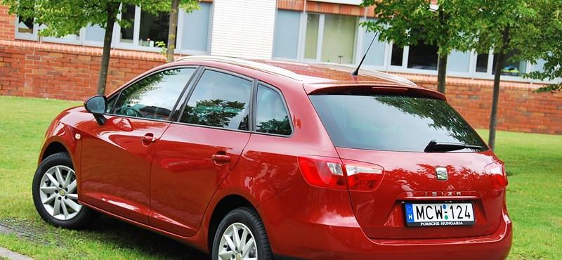 Seat Ibiza ST teszt: egyszerű, mint a jancsiszög