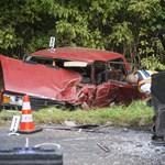 Fotó a nagykállói halálos baleset helyszínéről