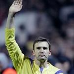 Andrij Sevcsenko az ukrán labdarúgó-válogatott új szövetségi kapitánya