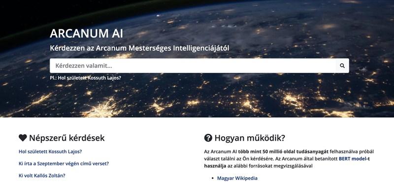 Pár éve még lehetetlennek tűnt: kérdezzen magyarul az Arcanum mesterséges intelligenciájától