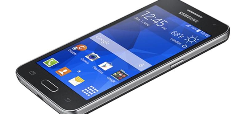 4 új, olcsó Android mobil a Samsungtól