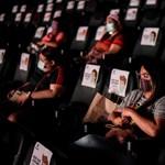 """""""Csodálatos érzés"""": Kinyitottak a mozik New Yorkban"""