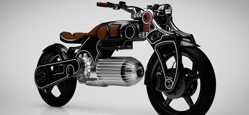 A motorkerékpároknál is őrült dolgokat hoz az elektromos hajtás