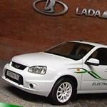 Jön az elektromos Lada - videó