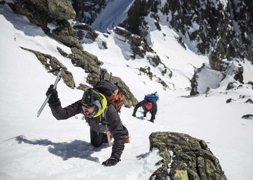 mti.17.03.05. - Ótátrafüred: Téli alpesi hegymászótanfolyam a Magas-Tátrában