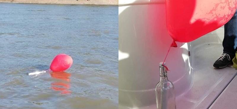 Az igazi palackposta: szívmelengető levelet halásztak ki a Dunából – fotók