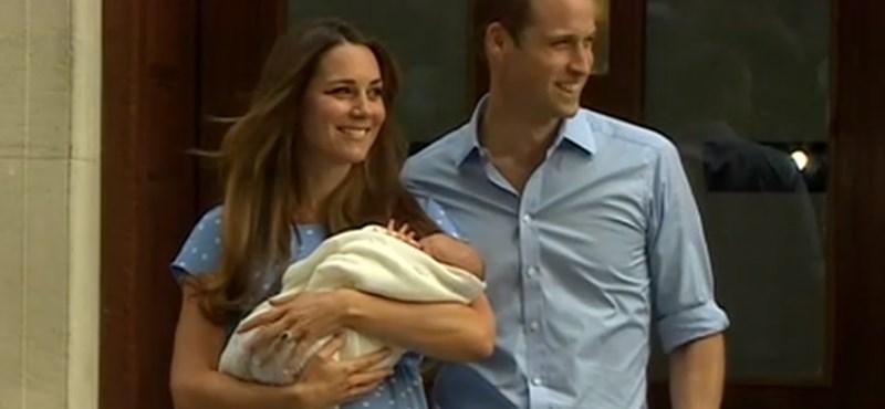 Már Katalin szüleinél van a királyi bébi