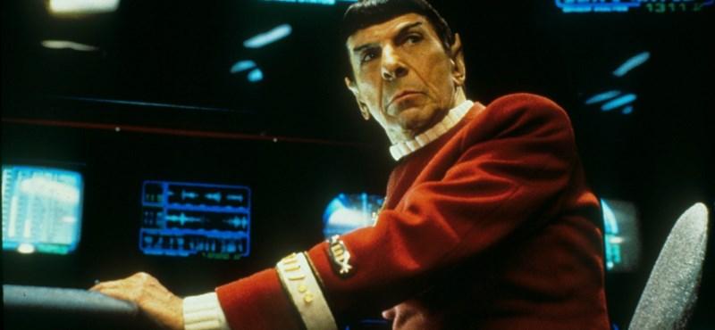 Meghalt a Star Trek Mr. Spock-ja