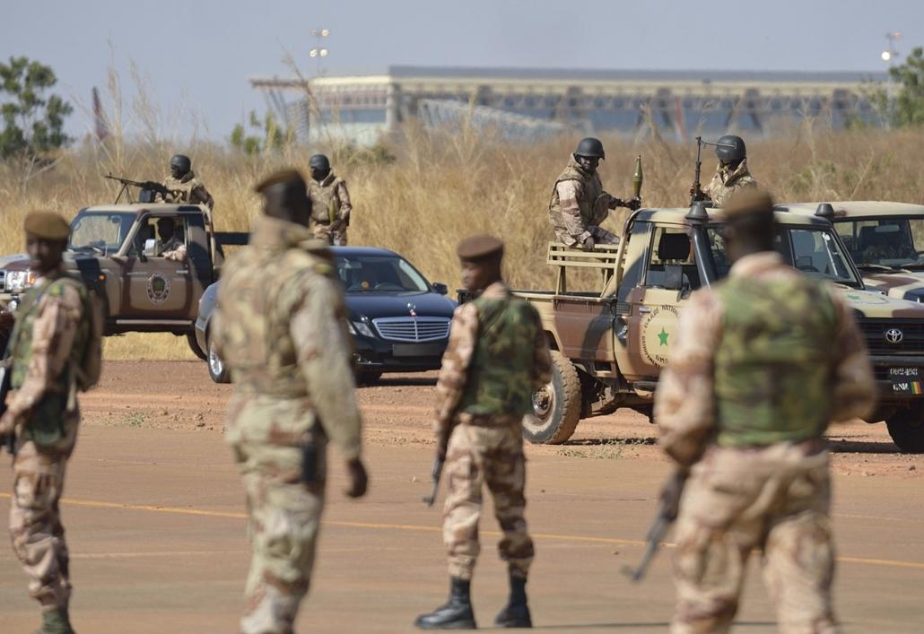 Malinagyítás afp, Mali, algéria, francia beavatkozás - mali katonák