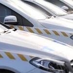 Rendőrautóban már itt van a Nyugat: 762 új Audija és Mercedese van a magyaroknak