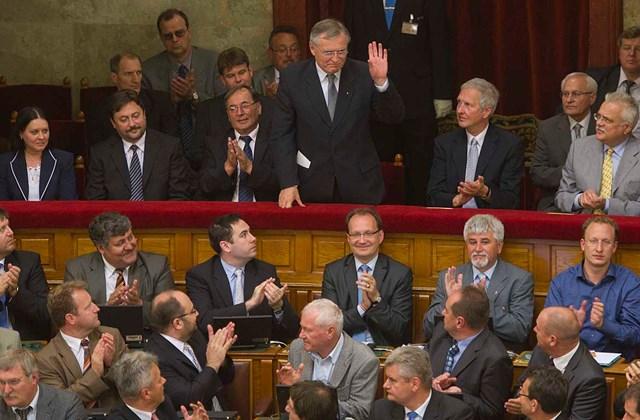 Az új Alkotmánybírók eskütétele
