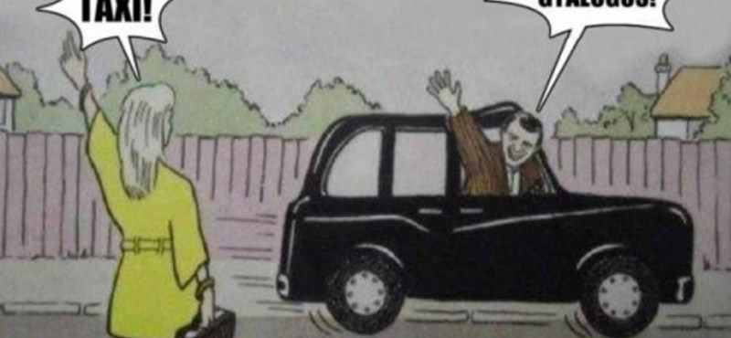 Taxisok vs. Uber: érkeznek a remek mémek