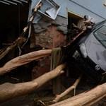 Négyen meghaltak az áradásokban Németországban