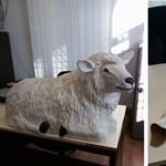 Műanyag bárányt és kost lopott a betlehemi jászolból a kazincbarcikai fosztogató