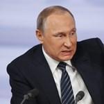 Putyin levágja Conchita Wurst szakállát