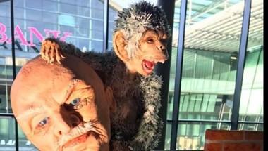 Olimpiai aranyat nyert egy komáromi cukrász egy majmos öregemberrel (fotó)