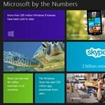 Meglepő Microsoft-számokat láthat ezen az oldalon