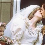 El vestido de novia de la princesa Diana en exhibición