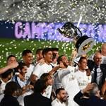 Harmincnegyedszer bajnok a Real Madrid