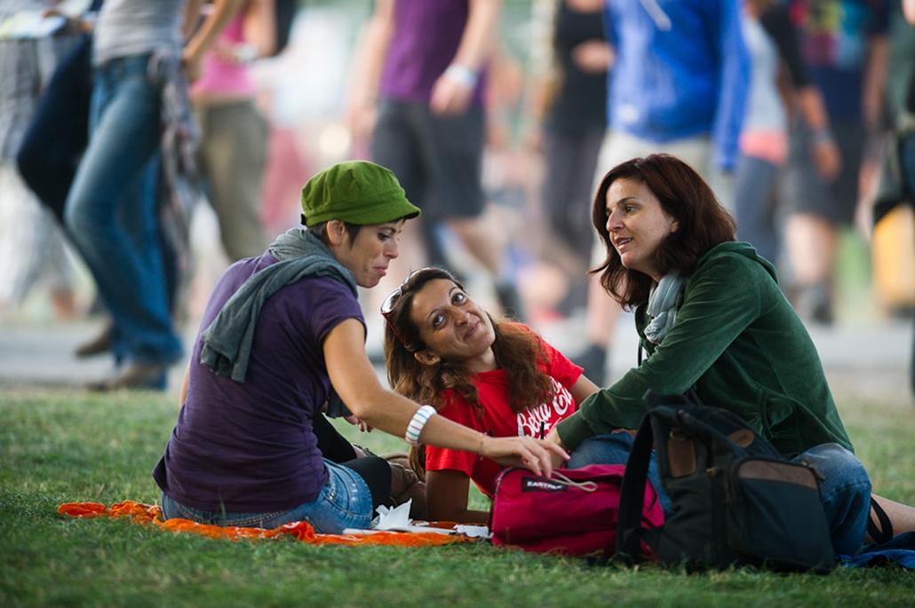 Sziget fesztivál 2011 külföldi lányok